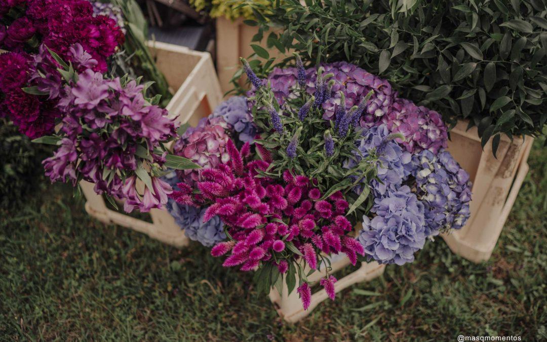 Las tendencias decoración floral