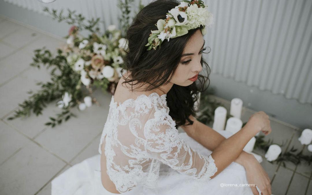 Tendencias de peinados para novias 2020