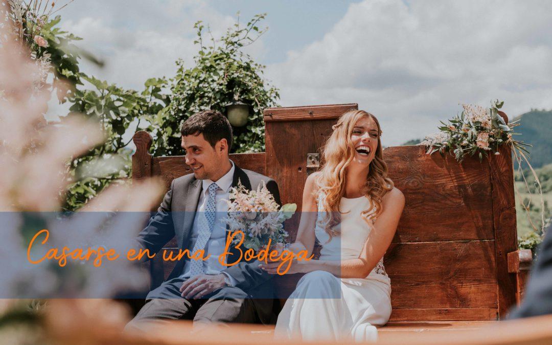 Casarse en una bodega
