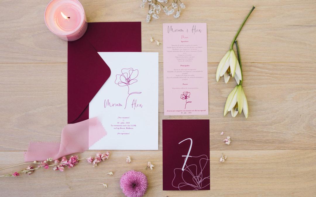 Nuestras invitaciones de boda